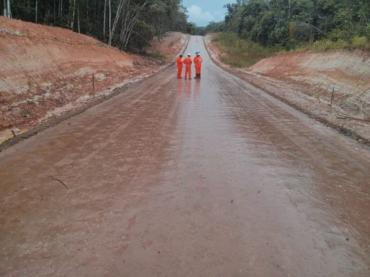 Petrobras clay road